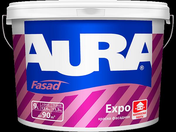 Купить краску для фасада Aura Fasad Expo в Омске