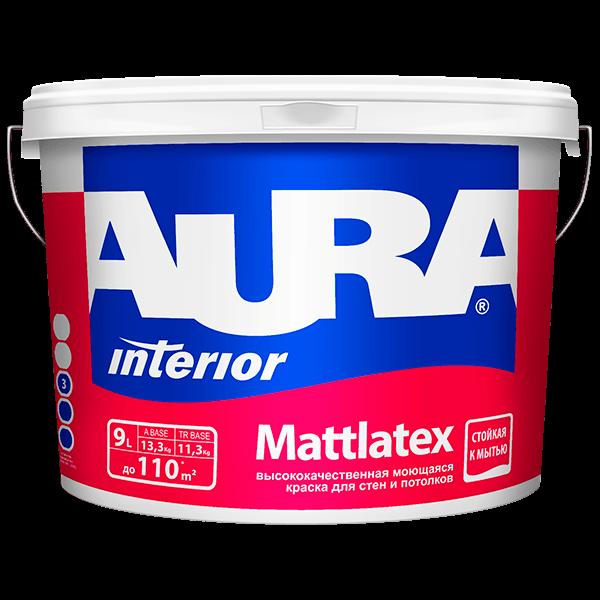 Купить краску для фасада Aura Interior Mattlatex в Омске