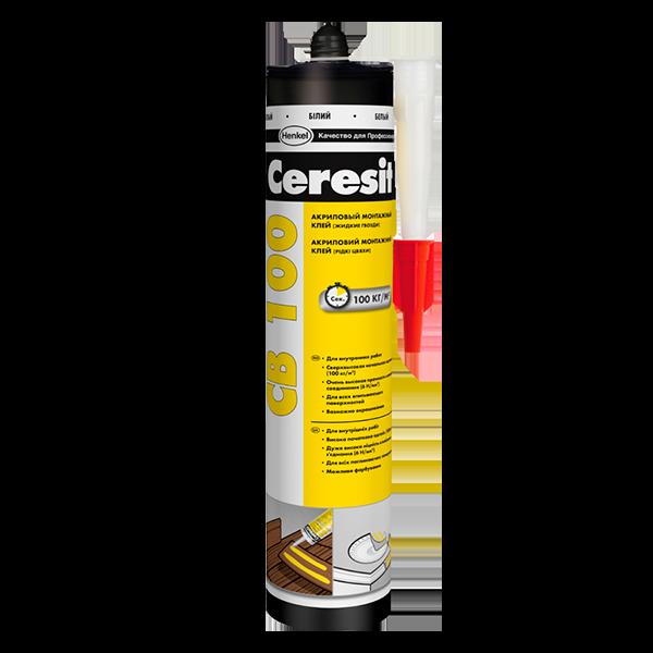 Купить жидкие гвозди Ceresit CB 100 Омск
