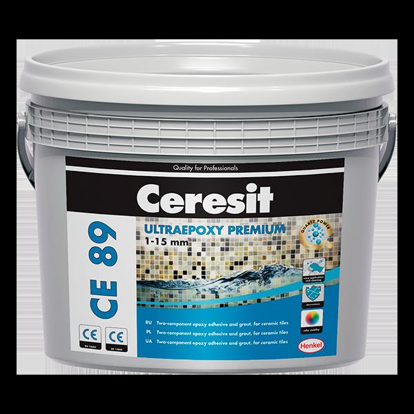 Купить затирка швов плитки Ceresit CE 89 UltraPoxy Premium Омск