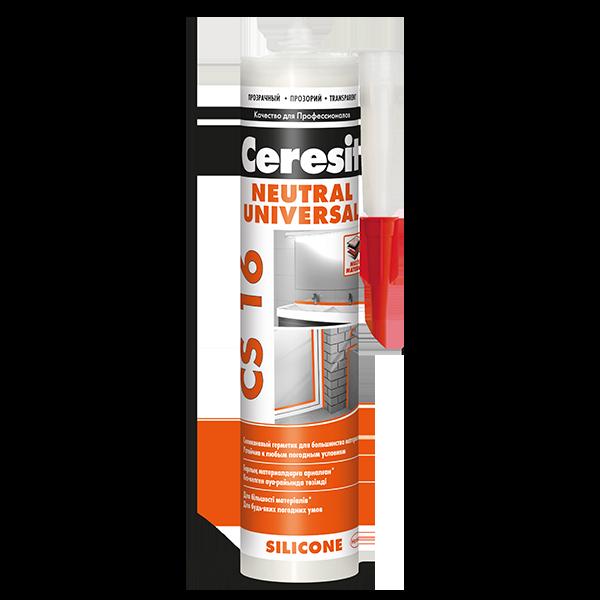 Купить силиконовый герметик Ceresit CS 16 Омск