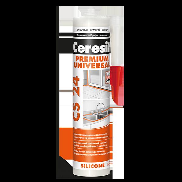 Купить силиконовый герметик Ceresit CS 24 Омск