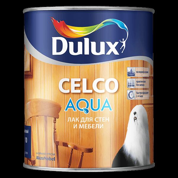 Купить лак по дереву Dulux Celco Aqua Омск