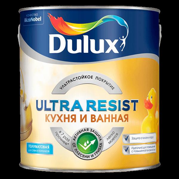 Купить краска Dulux Ultra Resist Кухня и Ванная Омск