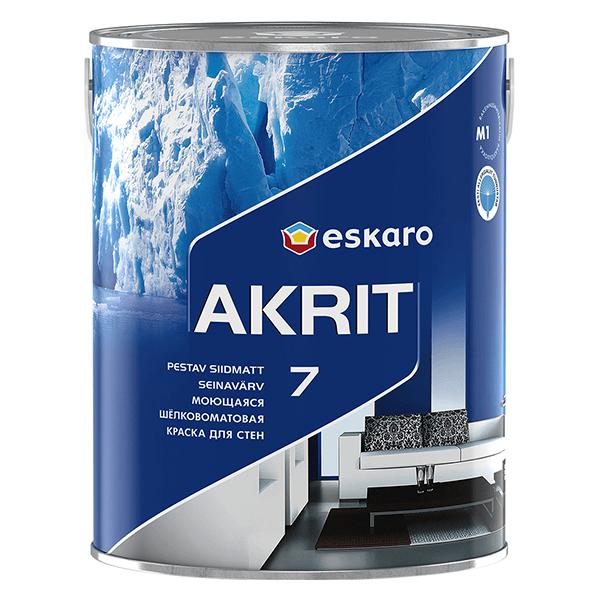 Купить краска интерьерная Eskaro Akrit 4 в Омске
