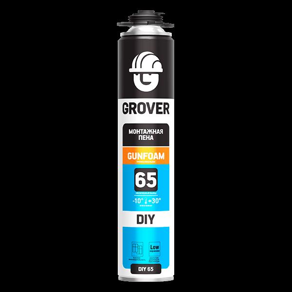 Купить пена монтажная Grover DIY 65 Омск