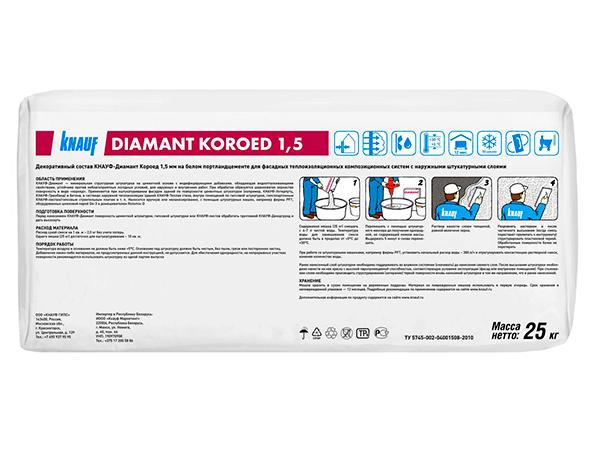 Купить Knauf Diamant штукатурка декоративная короед