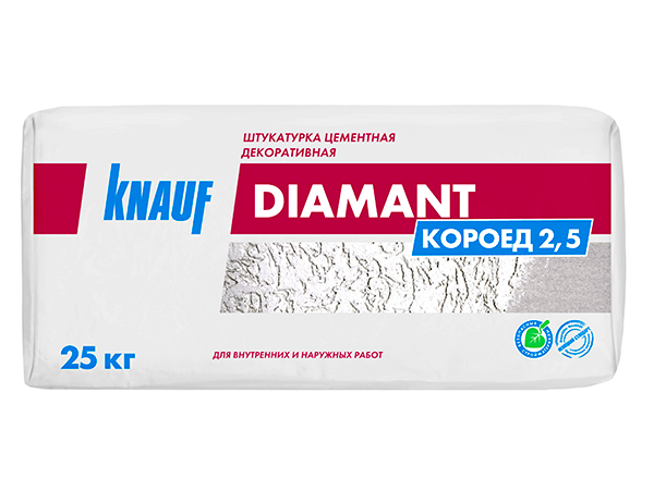 Декоративная штукатурка Кнауф Диамант Короед Омск