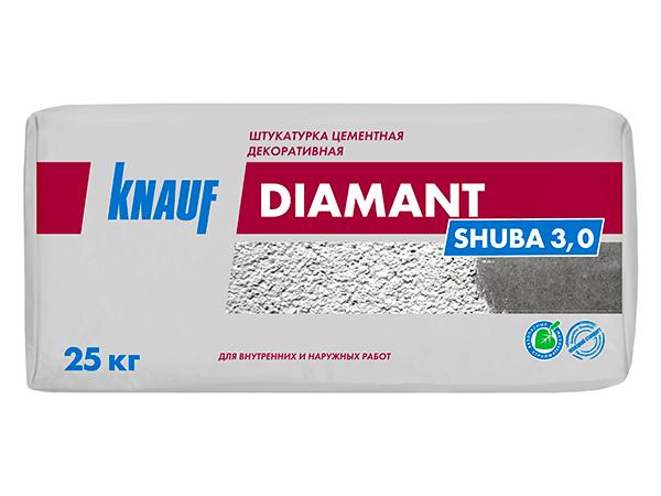 Декоративная штукатурка Кнауф Диамант Шуба Омск