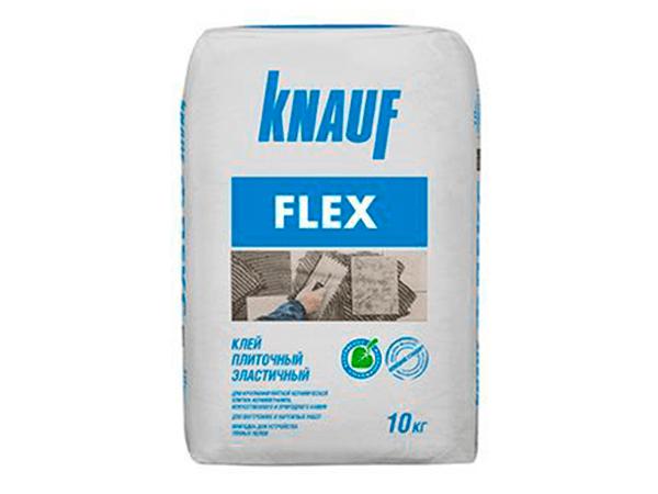 Купить плиточный клей Кнауф Флекс по привлекательной цене