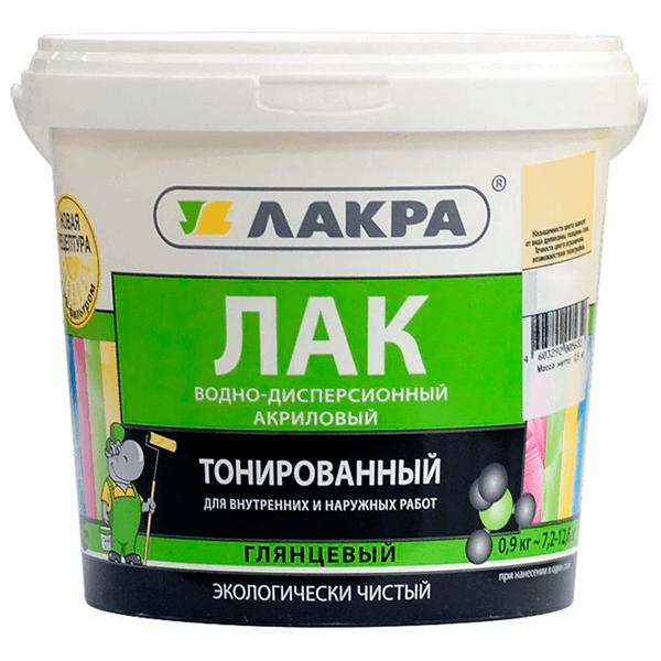 Купить лак тонированный Лакра в Омске