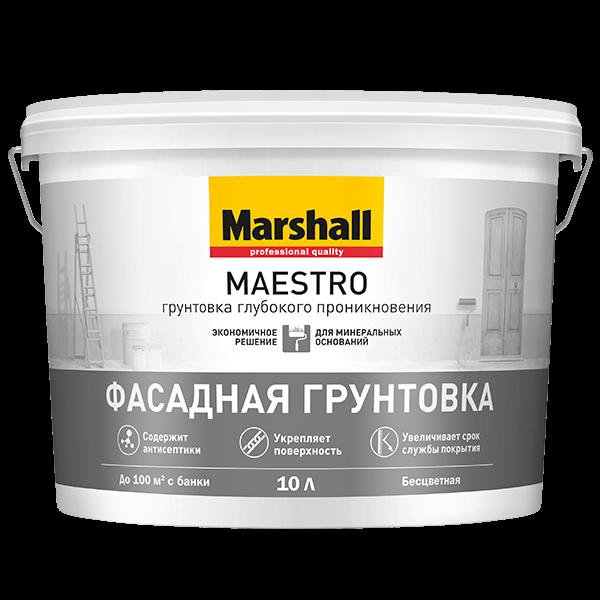 Купить грунтовка глубокого проникновения Marshall Maestro Омск