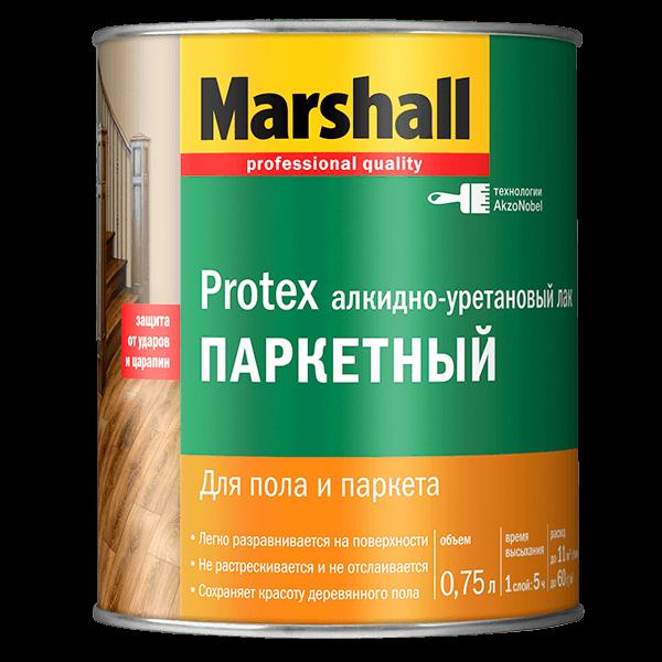 Купить лак паркетный Marshall Protex Паркетный Омск