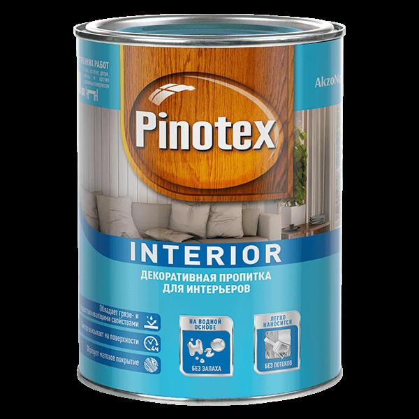 Купить пропитку для дерева Pinotex Interior Омск