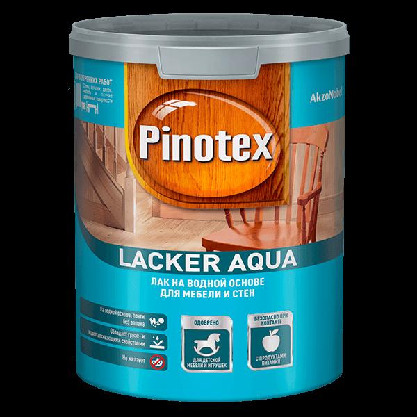 Купить лак для дерева Pinotex Lacker Aqua Омск