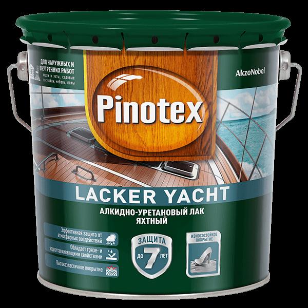 Лак Пинотекс Lacker Yacht Омск