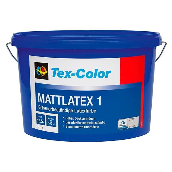 Купить краска интерьерная Tex-Color Mattlatex 1 Омск