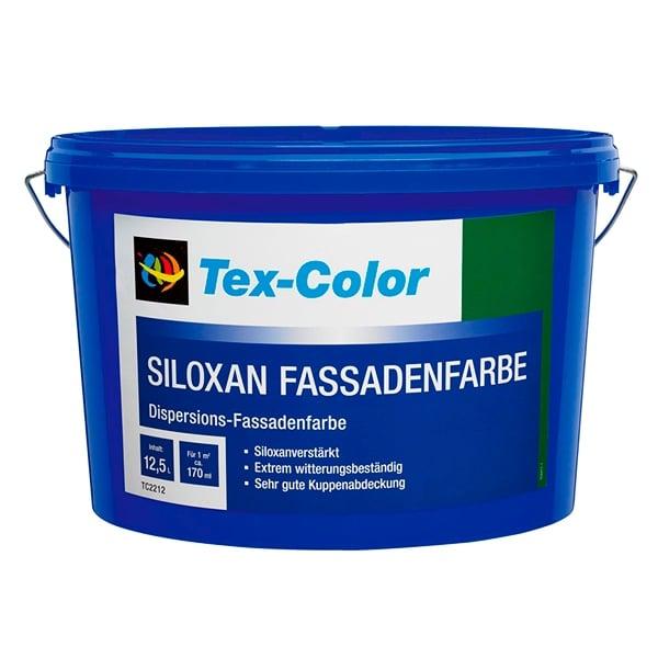 Купить краска фасадная Tex-Color Siloxan Fassadenfarbe Омск