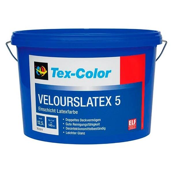 Купить краска интерьерная Tex-Color Velourslatex 5 Омск