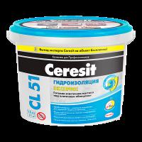 Купить Эластичная гидроизоляционная мастика Ceresit CL 51 Экспресс