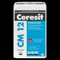 Купить клей для плитки Ceresit CM 12 Омск