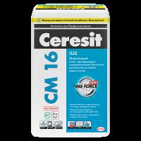 Купить клей для плитки Ceresit CM 16 Flex Омск