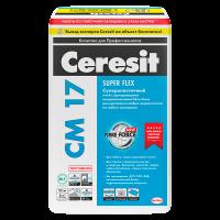 Купить клей для плитки Ceresit CM 17 Super Flex Омск