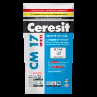 Купить клей для плитки Ceresit CM 17 White Омск
