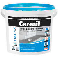 Купить готовый клей для плитки Ceresit Easy fix Омск