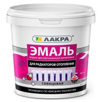 Купить эмаль для радиаторов и батарей Лакра Омск