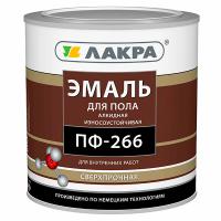 Купить эмаль для пола Лакра ПФ-266 Омск