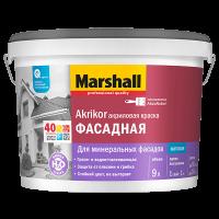 Купить краску фасадную Marshall Akrikor Фасадная Акриловая Омск