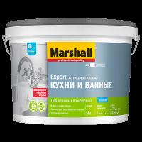 Купить краска интерьерная Marshall Export Кухни и Ванные Омск