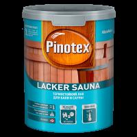 Купить лак для дерева Pinotex Lacker Sauna Омск