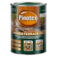 Купить масло для дерева Pinotex Wood&Terrace Oil Омск