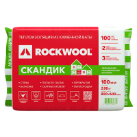 Купить утеплитель Rockwool Скандик Омск