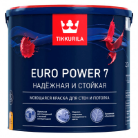 Купить краска Tikkurala Euro Power 7 Омск